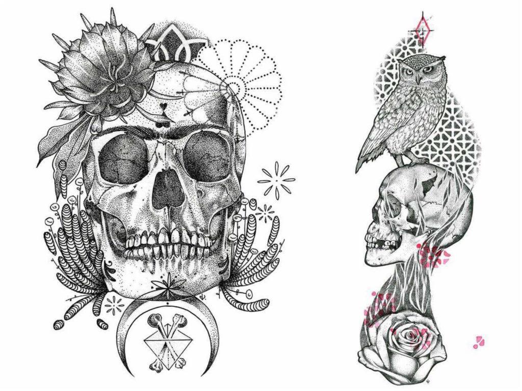 dedoverde draw skull