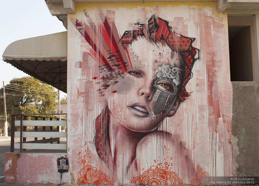 AQI mural em Vila Velha