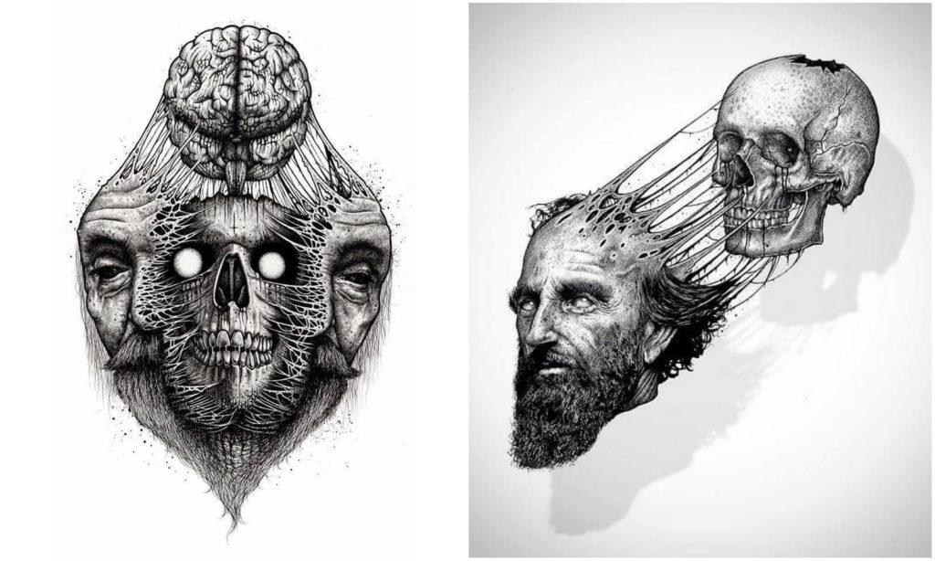 Paul Jackson - homem skull