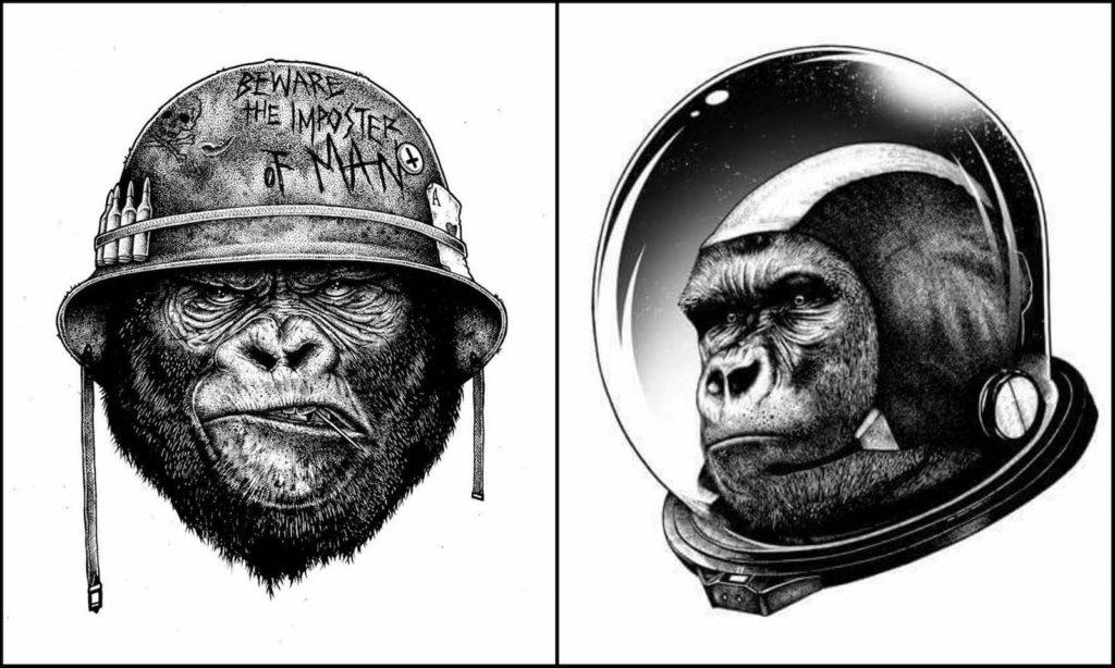 Paul Jackson - macacos