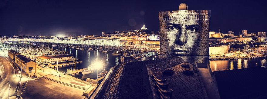 Philippe-Echaroux Projections Street-Art-In-France