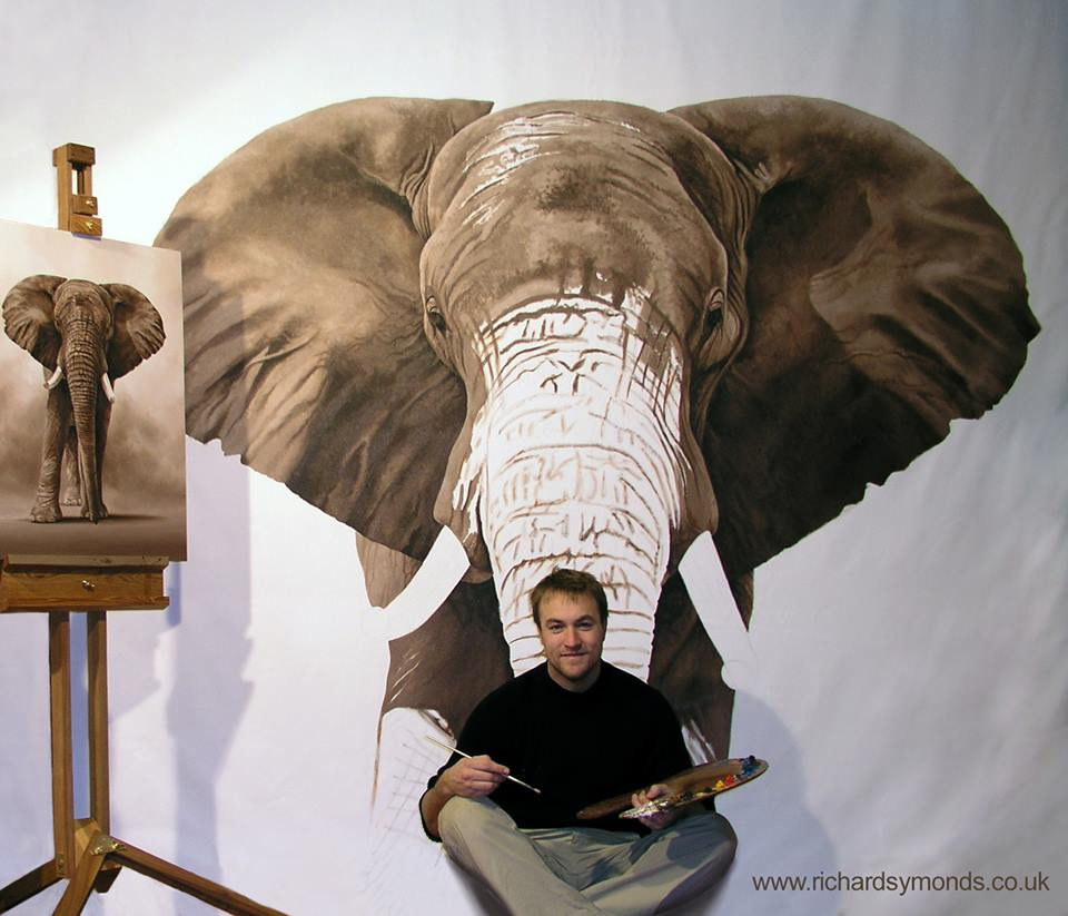 Richard Symonds elefante
