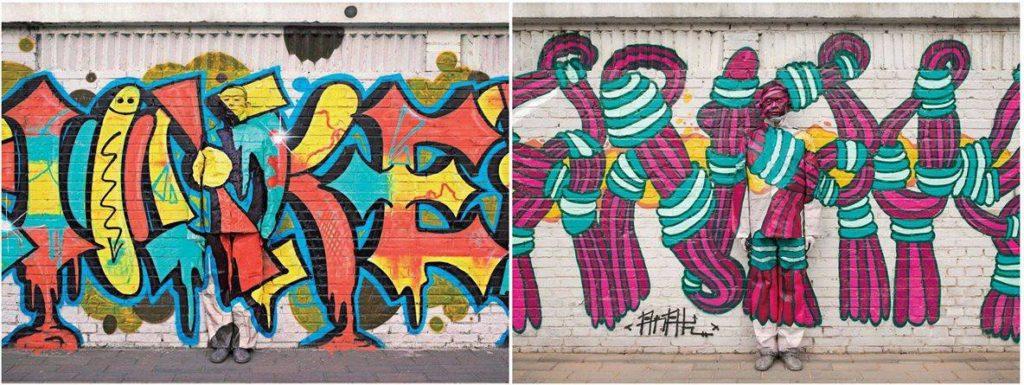 liu bolin - grafite