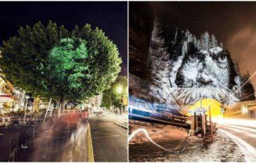 "Street Art 2.0 do fotógrafo francês ""Philippe Echaroux"""