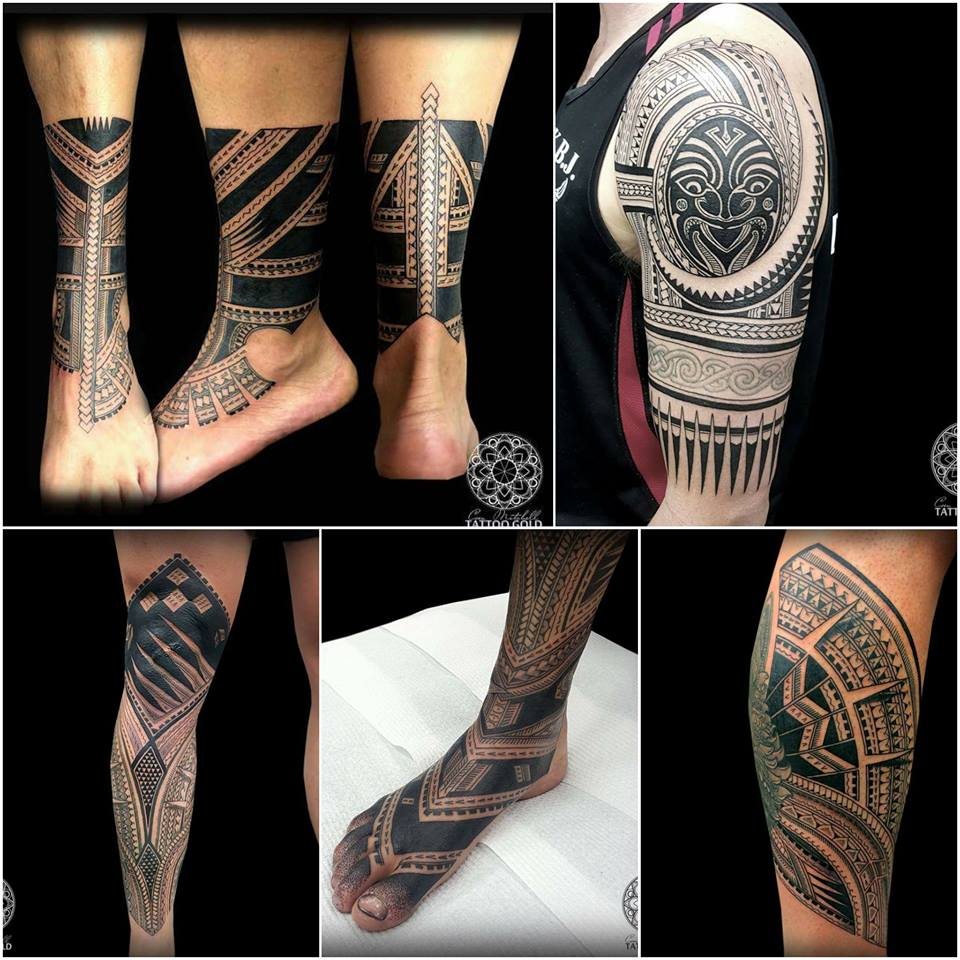 Coen Mitchell - maori - polinesio tattoo
