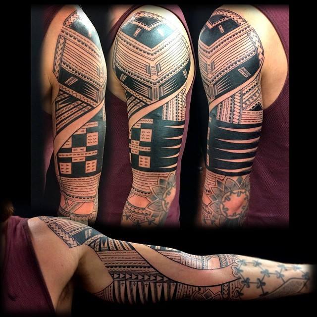 Coen Mitchell - maori