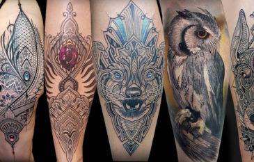 Artista Coen Mitchell e suas tatuagens incríveis