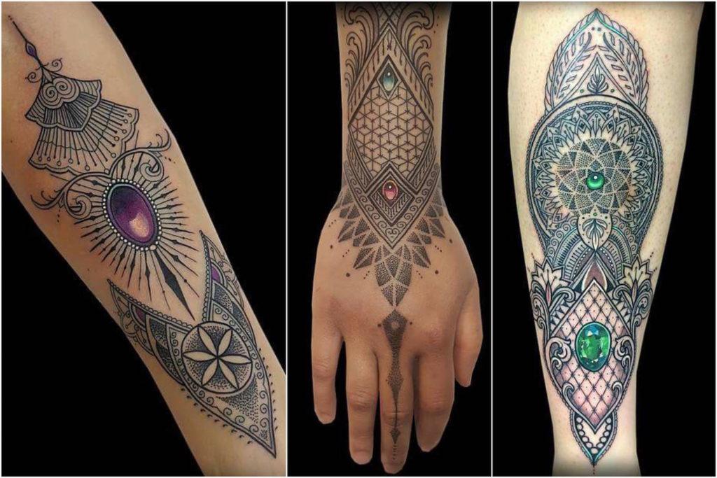 Coen Mitchell - mosaico tatuagem