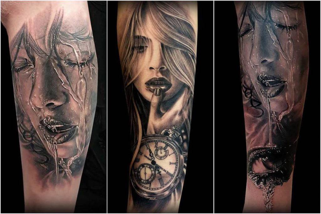 Coen Mitchell - realismo tattoo