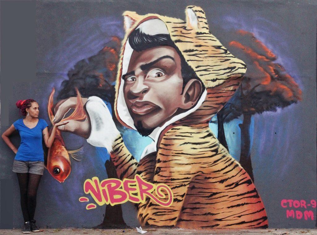 VIBER graffiti 2
