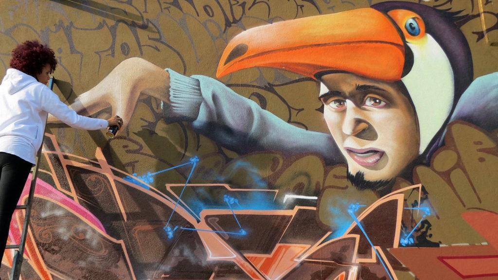 VIBER graffiti 5