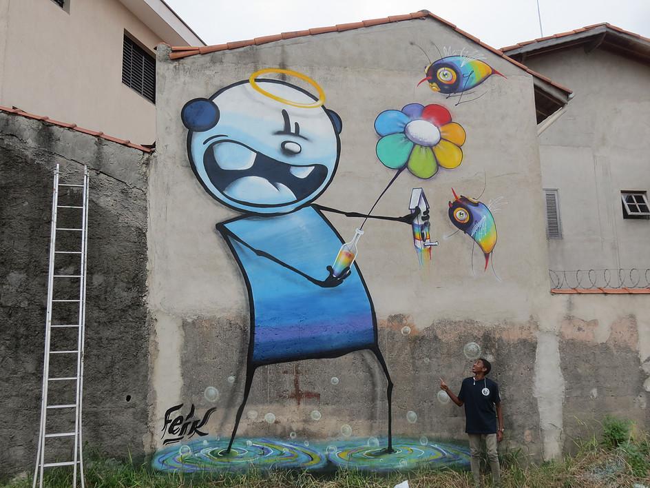 feik street art