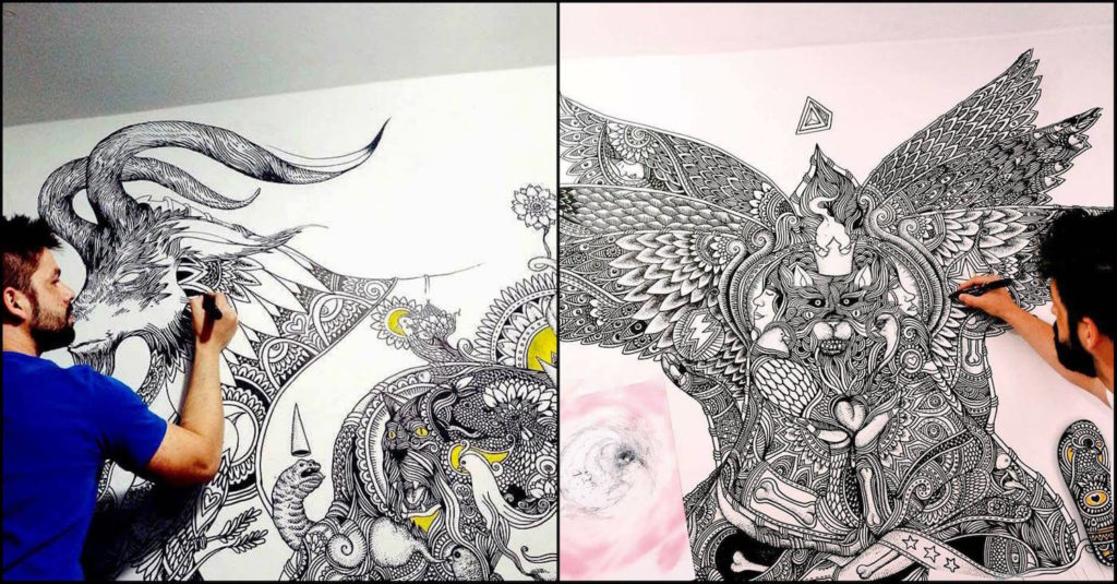 ilustra z mural art