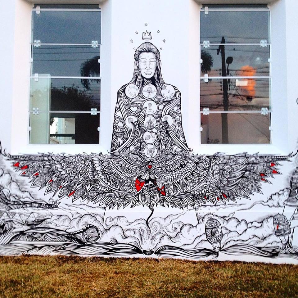 ilustra z mural arte