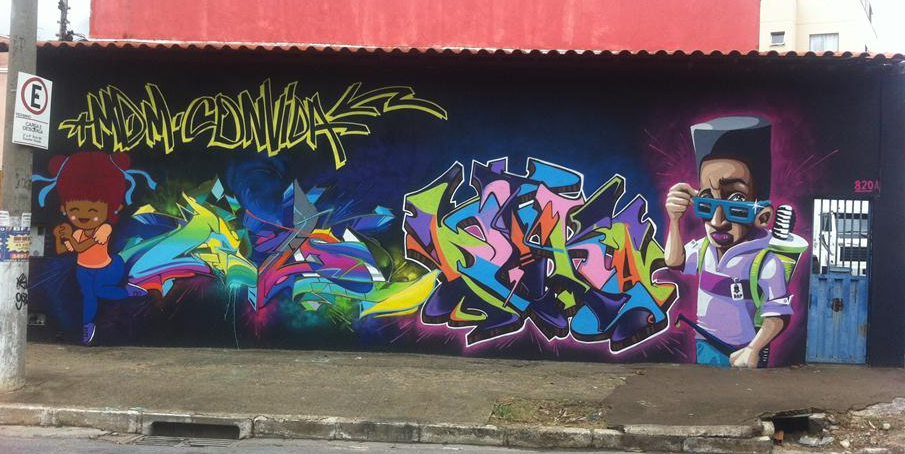 minas de minas graffiti
