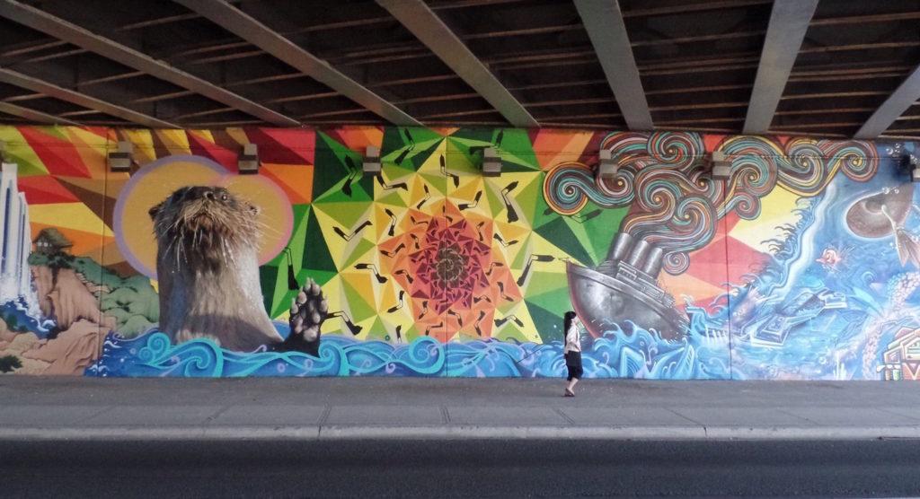 mural sapiens smoky kevin