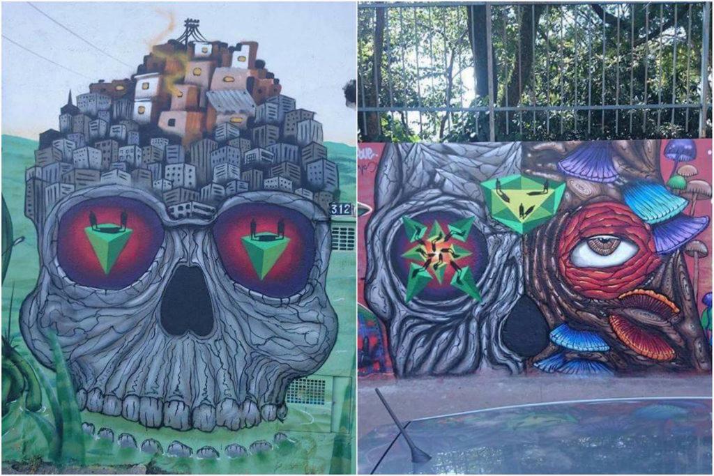 sapiens e joks - grafite