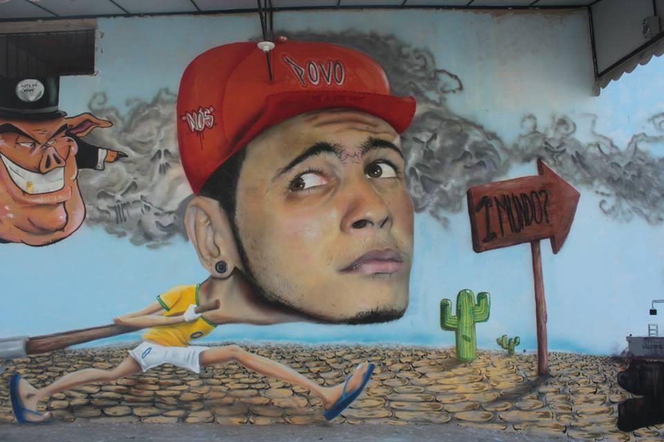 starley graffti arte mural
