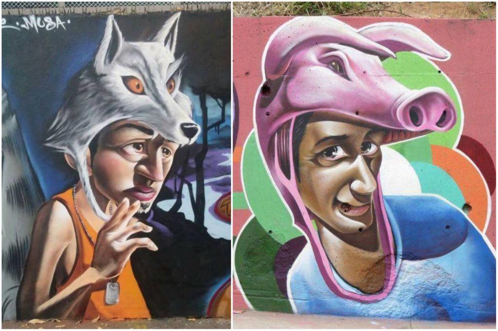vibes street art