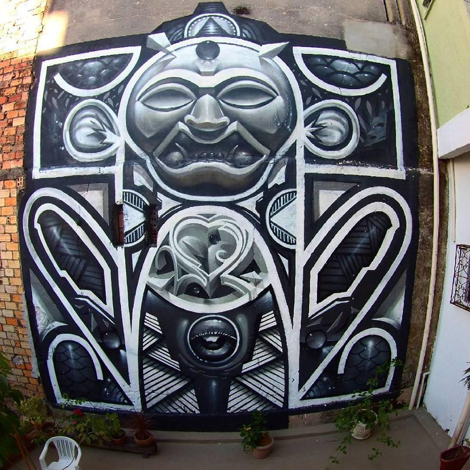 Amazon - streetart