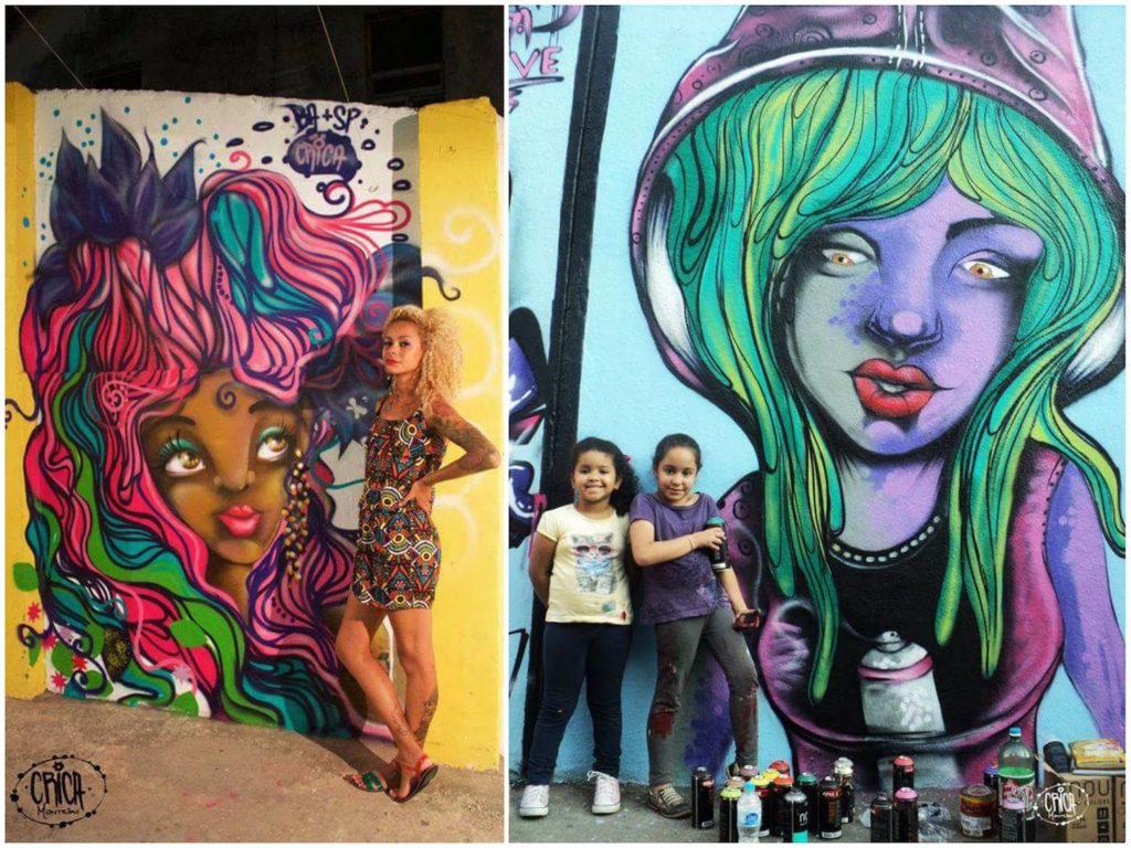 Crica Monteiro - graffiti