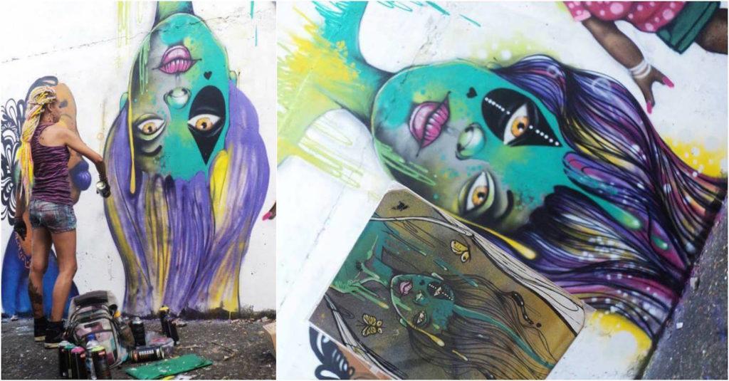 Crica Monteiro - grafite