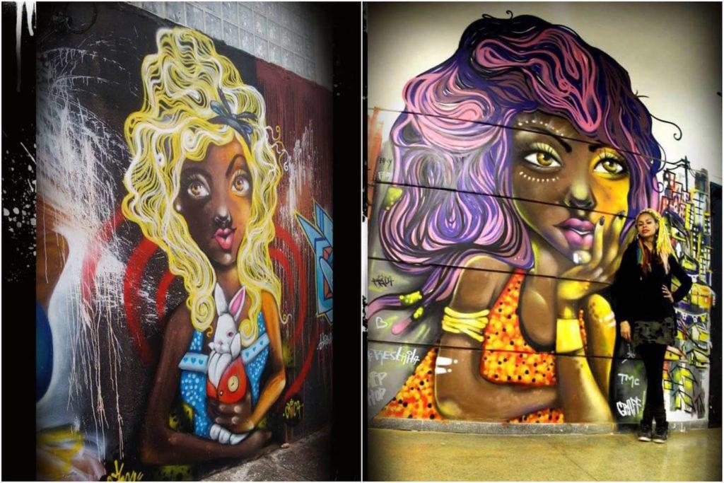 Crica Monteiro - mural