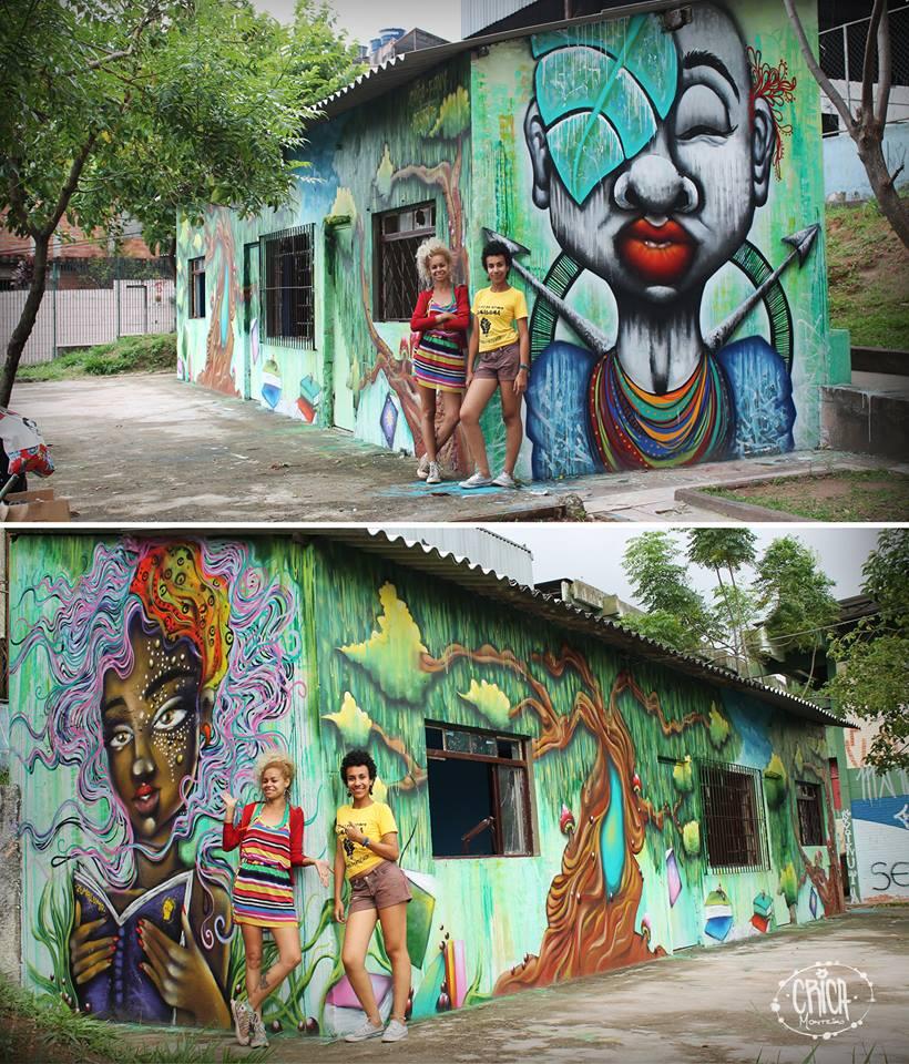 Crica - mural arte
