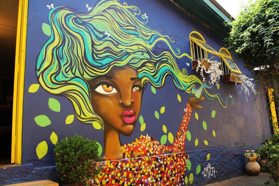 Crica - mural