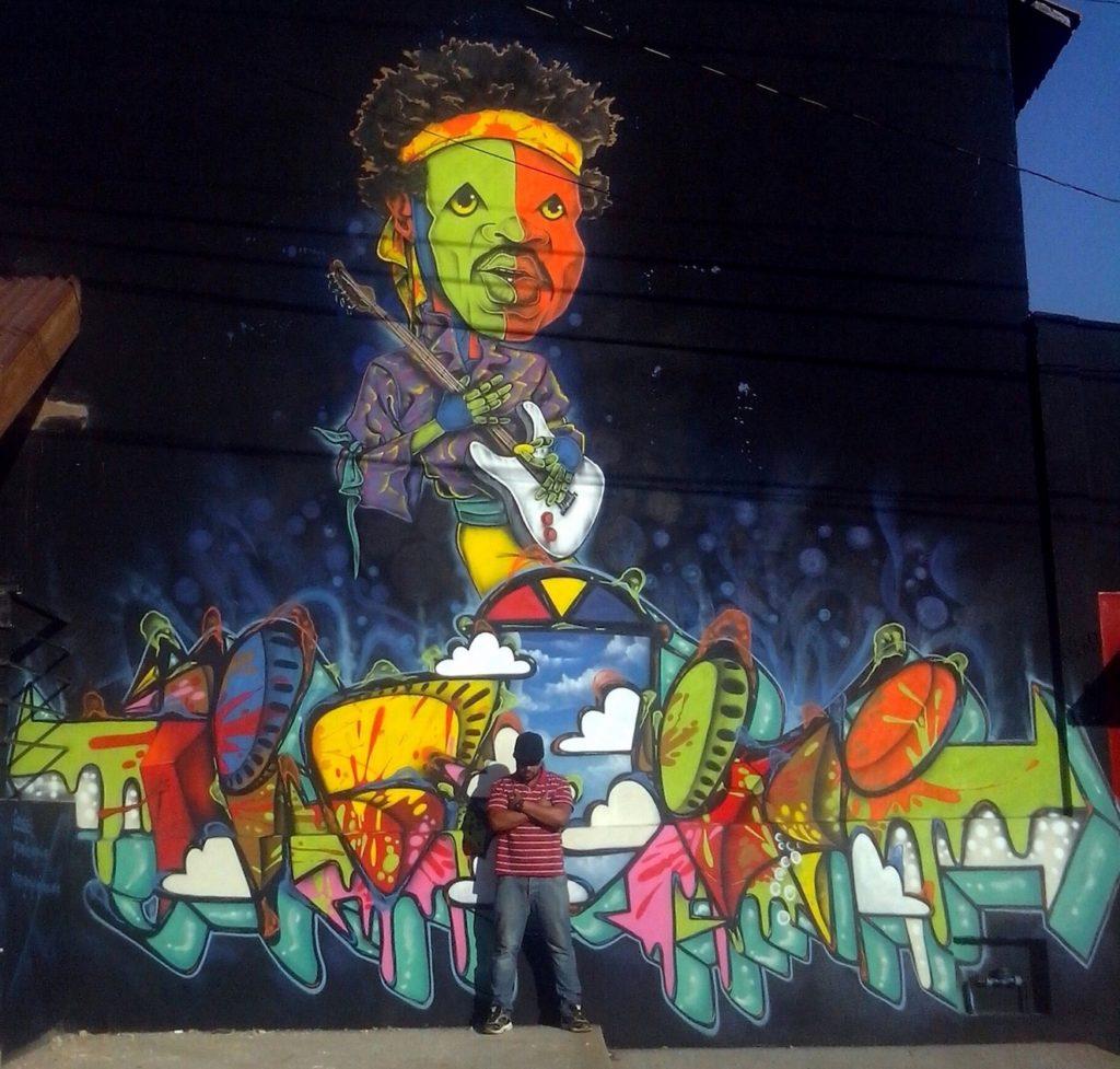 Dequete Mural Hendrix