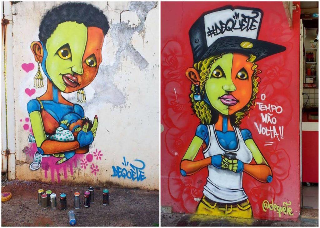 Dequete - arte graffiti