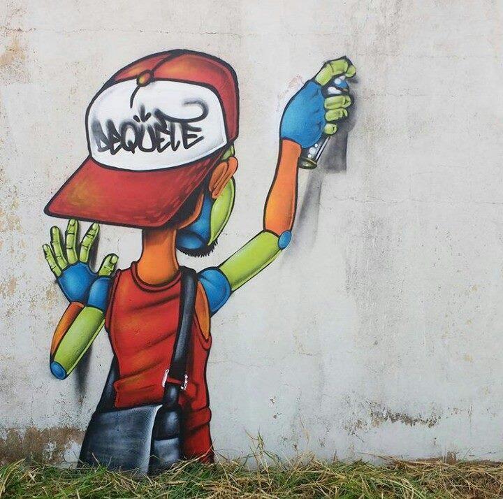 Dequete - grafite arte
