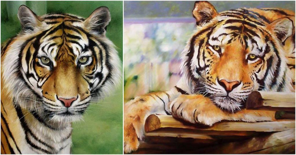 Fabiano Millani - Pinturas tigre