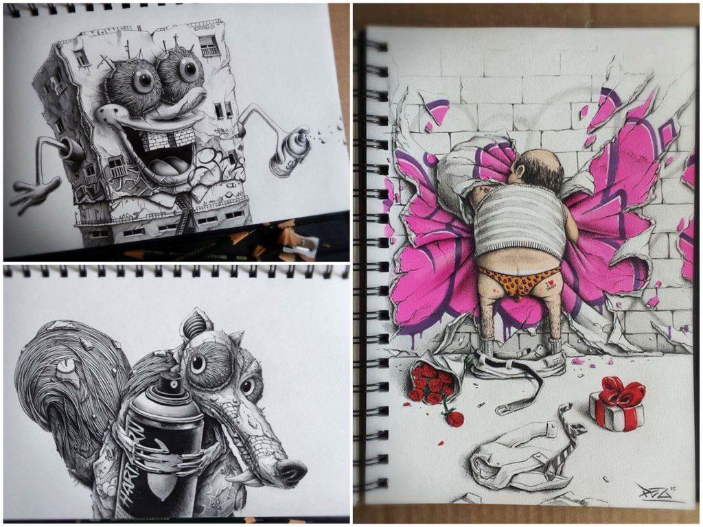 Pez - BO(m)B - Scratch - Graffiti Lover
