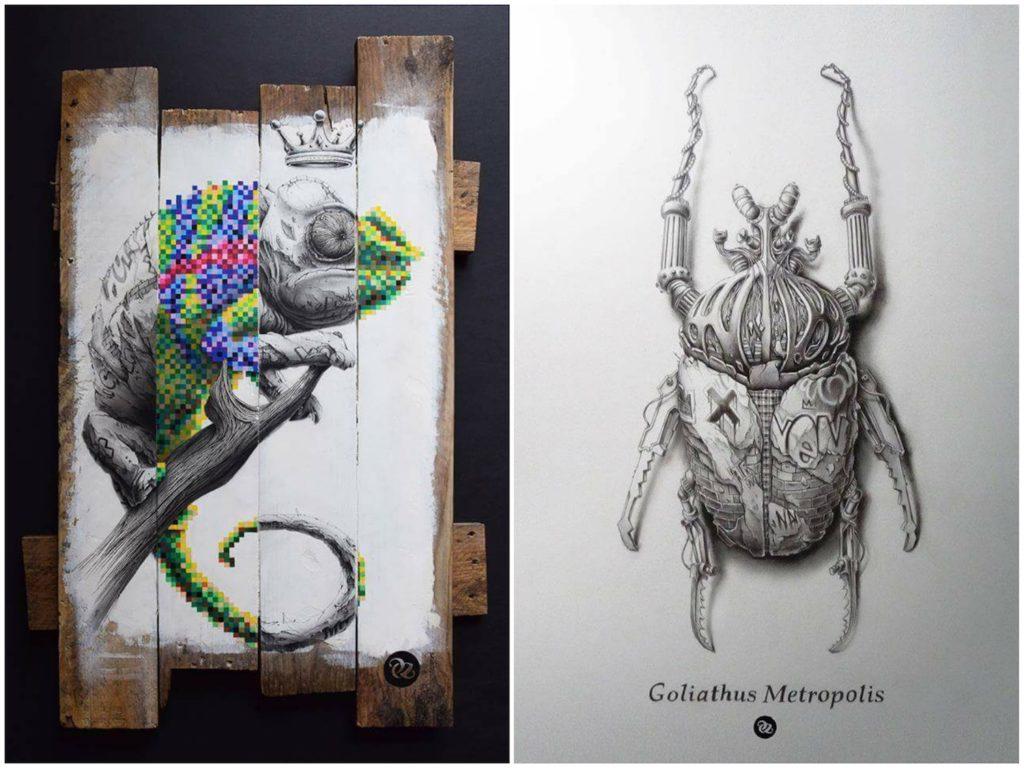 Pez - Mimetik - Goliathus Metropolis