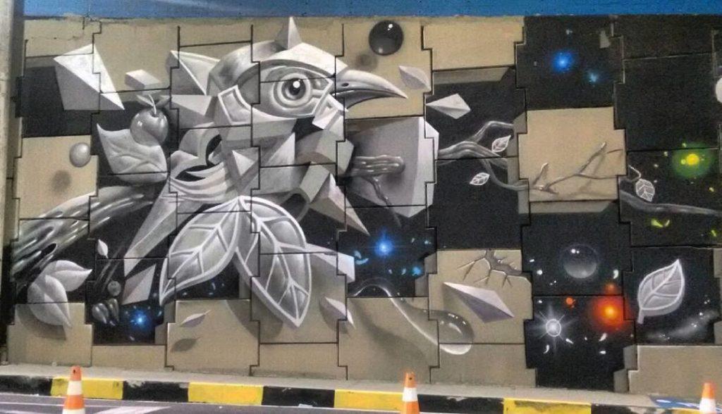 amazon mural