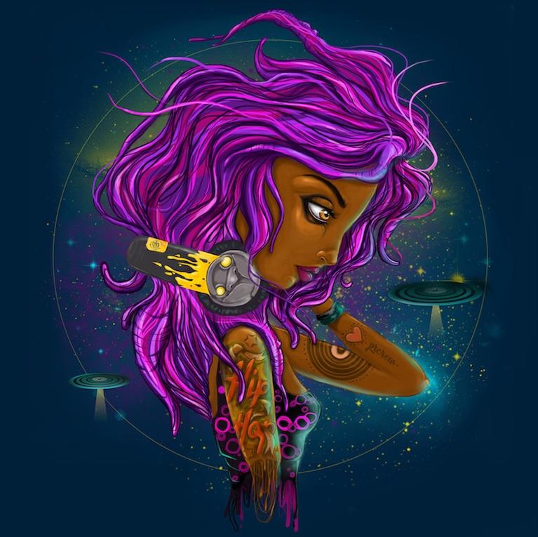 crica ilustraçao mulher