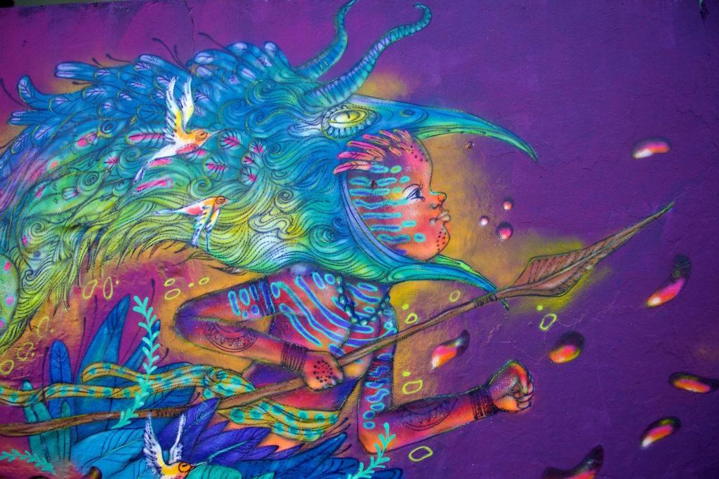 Eder Muiz - Calangos - Mural - Graffiti