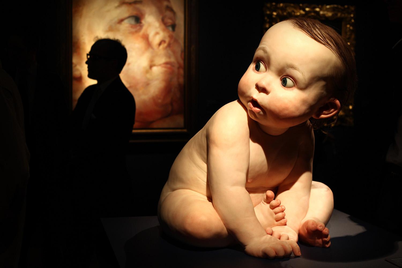 Ron Mueck - BIG BABY