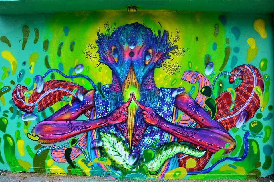 eder muniz calangos - mae natureza arte mural