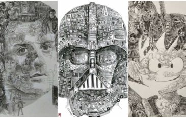 """As Ilustrações incrivelmente detalhada do artista """"Ah Leung"""""""