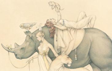 Conheça o artista Michael Parkes e suas arte realista e…