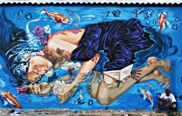 """Conheça a historia do artista """"GUD"""" e seus graffiti"""