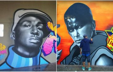"""Conheça o artista visual """"Leo Dco"""" e seus graffiti"""