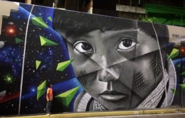 """Conheça o artista Manauara """"Jonison Signos"""" e seus murais"""