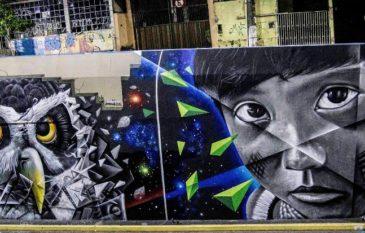 "Conheça a historia do projeto ""Amazônia Walls"" por Amazon"
