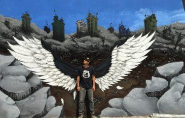 Conheça o artista DEVIS e seus graffitis