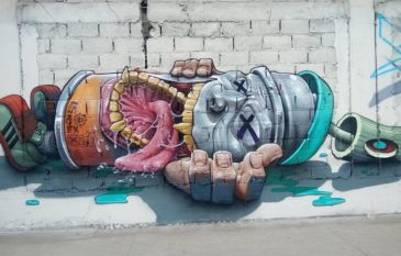 TOP 10 Arte Sem Fronteiras – Murais – Agosto