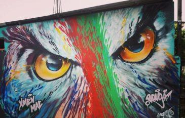 """Conheça o artista """"Bonga Mac"""" e sua historia no Graffiti"""