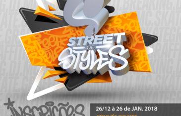Estão abertas asinscriçõespara a 7° Edição do Street of Styles